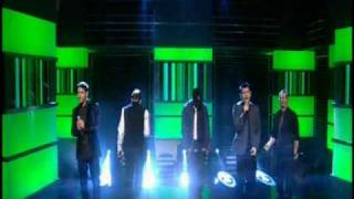 New Kids on the Block - National Lottery Performance - 2 in the morning