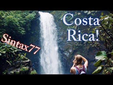 Costa Rica Pt 2 - Rainforest Hike, Waterfalls, & Poisonous Frogs