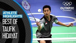 Taufik Hidayat 🇮🇩  - Olympic Badminton Gold Medallist | Athlete Highlights