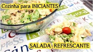 Salada Refrescante (Fácil): Cozinha para Iniciantes