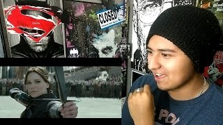 """The Hunger Games: Mockingjay Part 2 Official Trailer – """"We March Together""""  REACTION!!!"""
