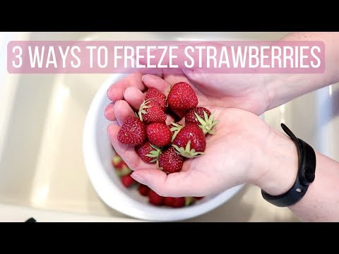 How to Freeze Strawberries, 3 Ways Including 1 Lazy Way