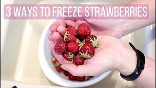 How to Freeze Strawberries, 3 Wąys Including 1 Lazy Way