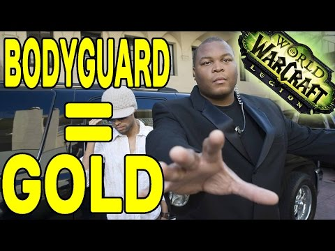 how to get a bodyguard in wow legion