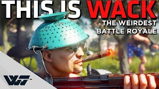 THIS IS WACK - Absolutely HILARIOUS battle royale you may not even know exists - Cuisine Royale