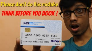 I got my paytm ATM card