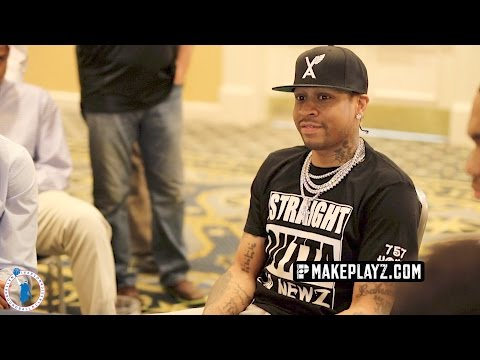 Allen Iverson Gives EPIC Motivation to Players in his Roundball Classic! Day Two Recap!