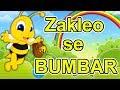 Zakleo se bumbar - Dečija pesmica | Muzika za decu o životinjama | Zum Zum zum zum | U cvet i u med