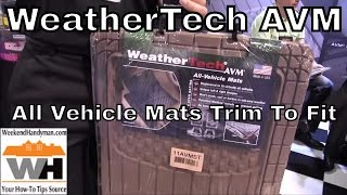 #WeatherTech All Vehicle Mats AVM Trim To Fit Car Truck Floor Protection | Weekend Handyman