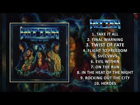 HITTEN - Twist Of Fate [Full Album][2018] Mp3