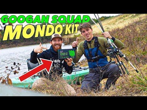GOOGAN SQUAD MONDO KIT SLAM with Jon B. (Unboxing + Kayak Fishing REVIEW) TikTok Songs