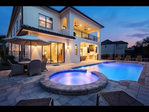 Wow! Tour of Orlando's Most Exclusive Vacation Rental - Reunion Resort 454