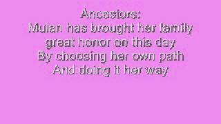 Mulan Jr.: Honor To Us All (Finale) with lyrics