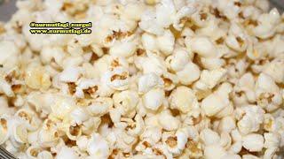 Sekerli Popcorn nasil yapilir tarifi - Sekerli Patlamis Misir tarifi - Nurmutfagi NurGüL