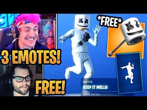 Streamers React to New *FREE* Marshmello