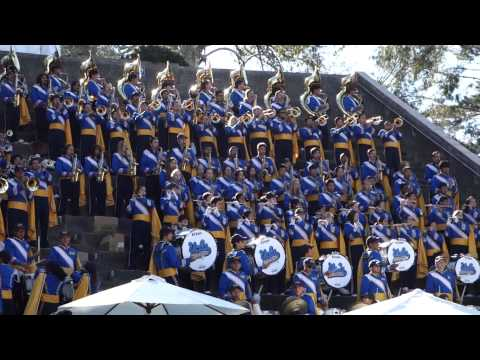 UCLA Marching Band Pre-Game performance at Bruin Bash October 18, 2014 Video 1