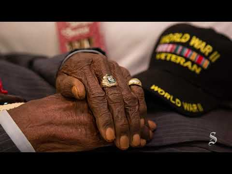 Public Viewing For Richard Overton, A WWII Veteran Who Was The Country's Oldest Man