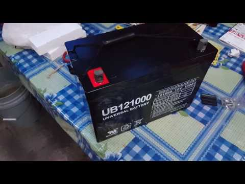 Amazon 100ah Universal Power Group 45978 Sealed Lead Acid Battery