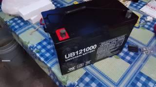 Amazon 100ah Universal Power Group 45978 Sealed Lead Acid Battery