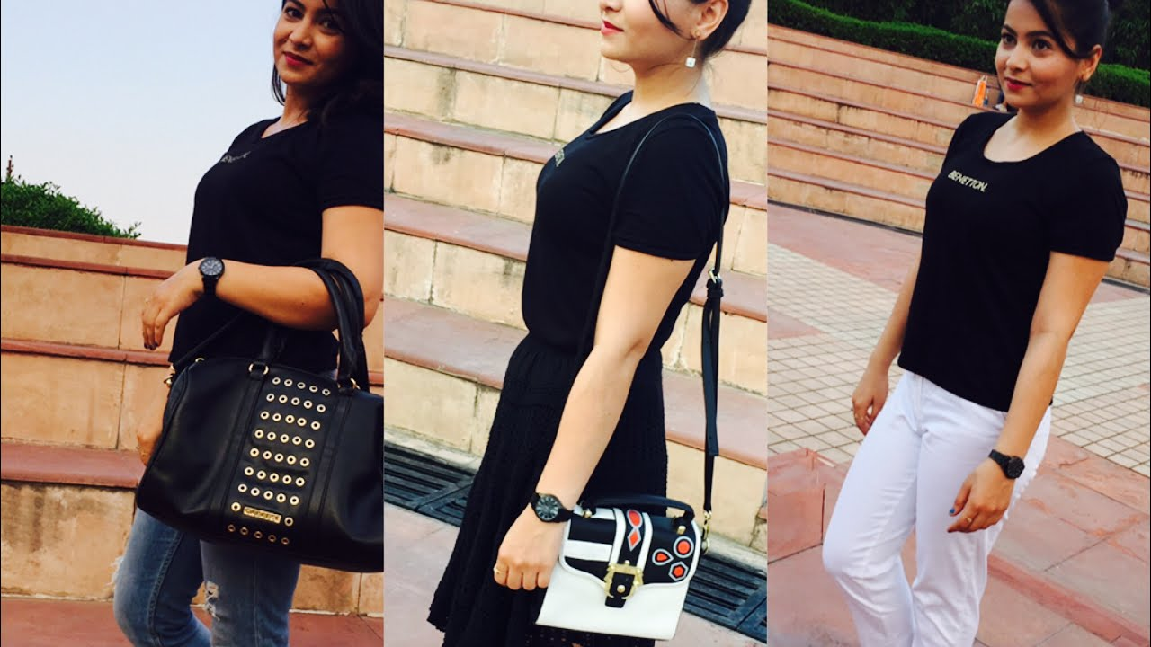 Plain black t shirt style - Five Ways To Wear A Plain Black T Shirt Tips