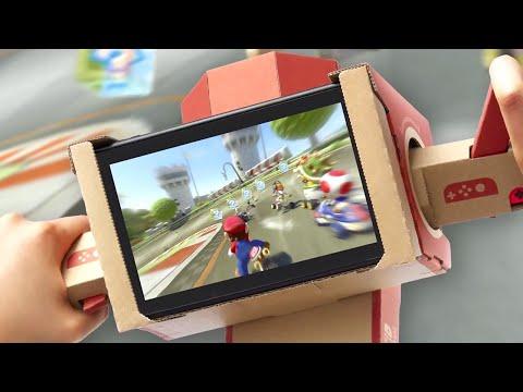 Nintendo Labo & Mario Kart 8 Deluxe - Now Compatible Official Trailer