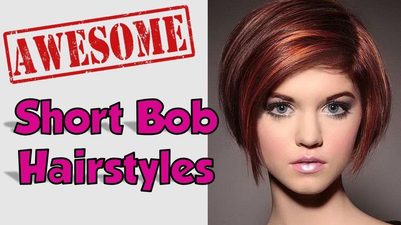 Hairstyles 2019: Womens Short Bob Hairstyles Ideas 2018 2019