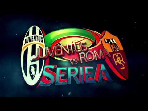 SerieA BIG MAtch Juventus vs AS Roma Replay Logo