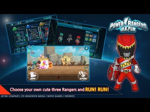 Power Rangers Dash (Asia) Android Gameplay