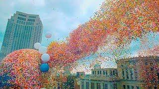 Lasse niemals 1,5 Millionen Ballons in die Luft!