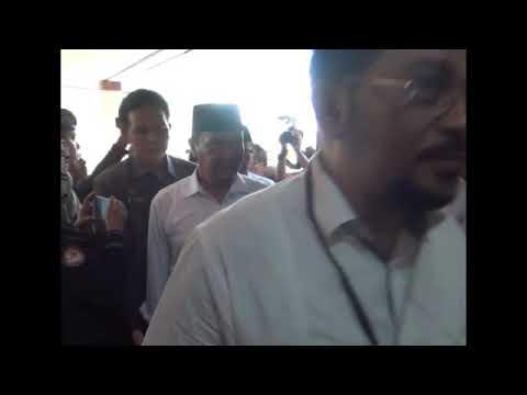 Pendaftaran Calon Bupati dan Wakil Bupati Bondowoso H.Ahmad Dhafir dan Hidayat