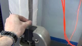 Разрывная машина FU 200 кН с пневматическими захватами.(Универсальная испытательная машина FU 200 кН с пневматическими захватами и полукруглыми губками для испытан..., 2015-06-01T12:25:40.000Z)