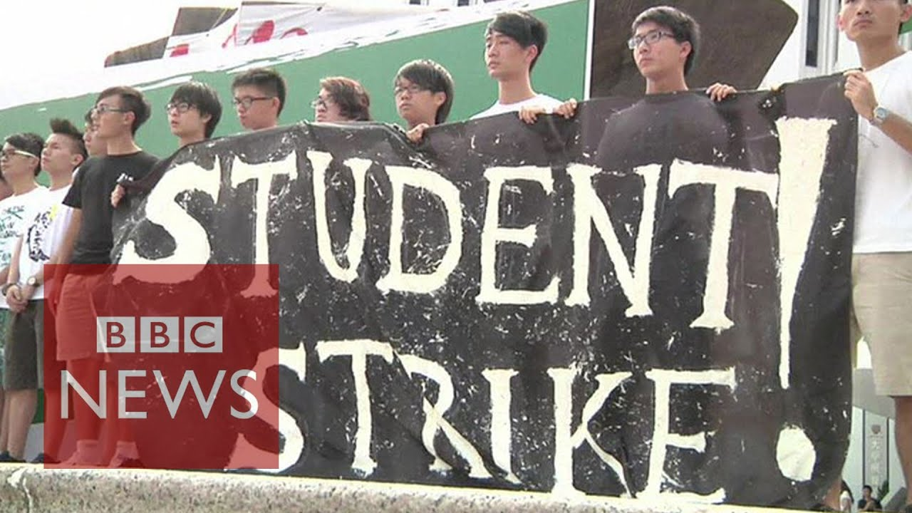 Occupy Central: 'We want our voices to be heard!' say Hong Kong students - BBC News