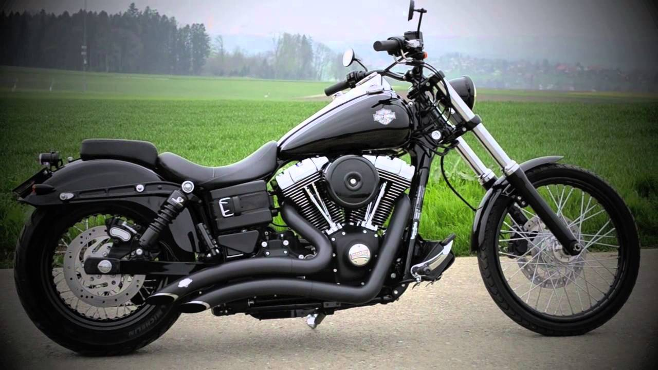 Harley Davidson Dyna Wide Glide 2012 - YouTube
