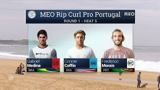 Meo Rip Curl Pro Portugal: Round One, Heat 5