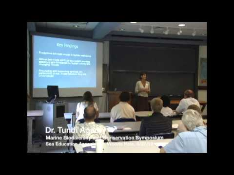 S.E.A. Semester: Dr. Tundi Agardy @ Marine Biodiversity and Conservation Symposium