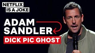 Adam Sandler's Dick Pic Ghost Strikes Again and Again | Netflix Is A Joke