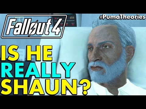 Fallout 4 Theory: Is Father Really Your Son Shaun? (Lore And Theory) #PumaTheories