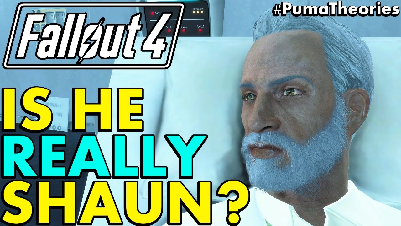 Fallout 4 Theory Is Father Really Your Son Shaun Lore And Theory Pumatheories