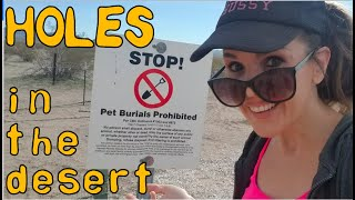 Holes in the Desert: the Las Vegas Pet Cemetery