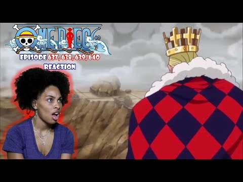 I WASN'T EXPECTING THE FIGHT TO END LIKE THIS   ONE PIECE EPISODE 637, 638, 639, 640 REACTION