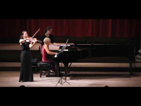 Francis Poulenc Sonata for Violin and Piano 2/3