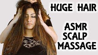 Long Beautiful Hair ASMR Scalp Massage & Hair Brushing Sounds