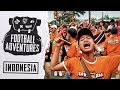 Football Adventures | Indonesia—Away Days, Bus Attacks & Champions League Nights with James Montague