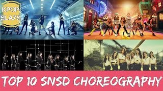 Top 10 SNSD Choreography - Stafaband