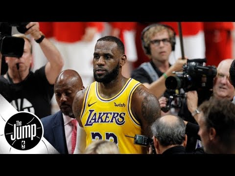 Are LeBron James' Los Angeles Lakers in trouble already? | The Jump