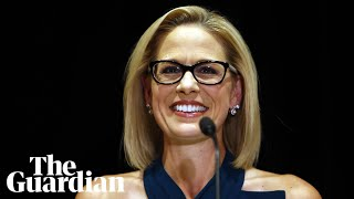 Arizona has rejected petty political attacks, says Democrat Kyrsten Sinema