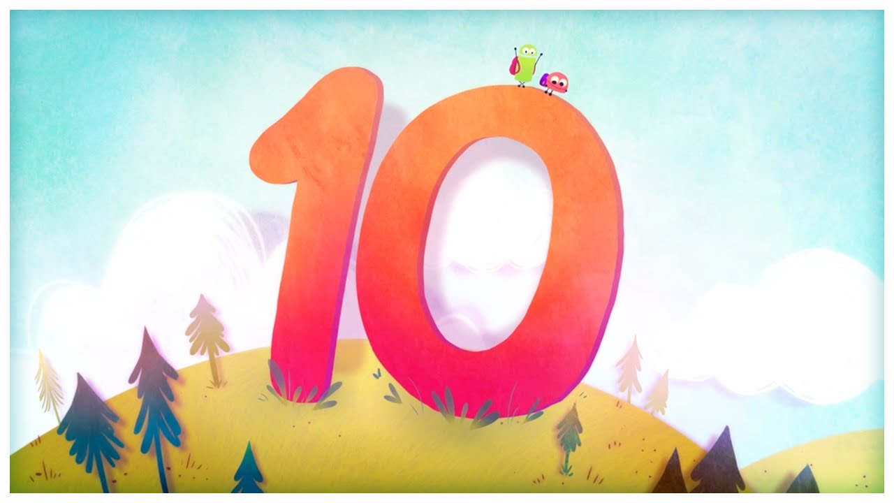 U0026quot The Number 10 U0026quot   Number Songs By Storybots