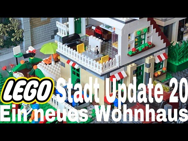 Lego Stadt Update 20/ Ein neues Wohnhaus