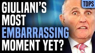 Rudy Giuliani Butt-Dials Reporter, Exposes More Corruption