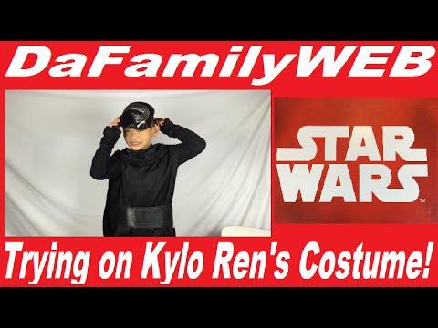 trying-on-the-kylo-ren-costume---star-wars:-the-force-awakens---kids-costume,-disney,-dark-side